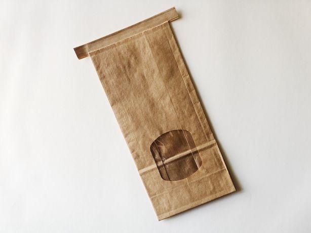 50 Sacos papel Kraft - stand up