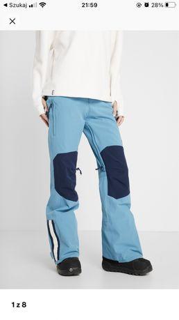 Burton retro s spodnie snowboardowe snowboard narty narciarskie