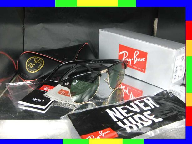 RAy ban 3016 preto clubmaster erika cris clubround 3025 rayban oculos
