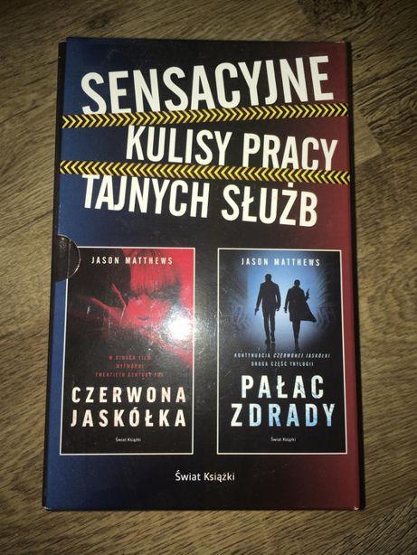 """Jason Matthews """"Czerwona Jaskółka"""" i """"Pałac Zdrady"""" dwupak"""
