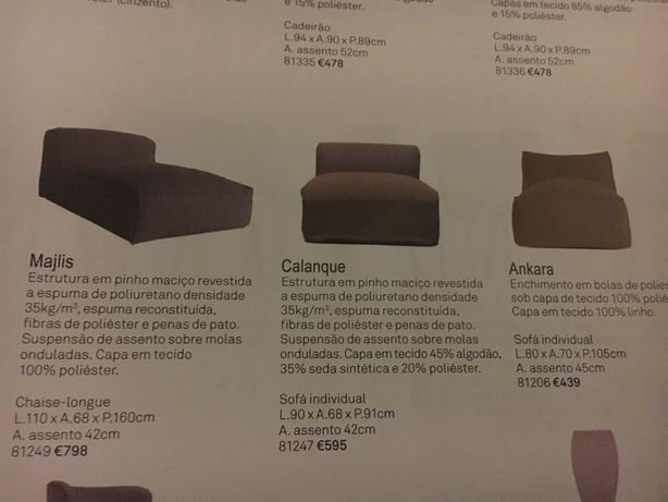 Sofa Area store - Calanque