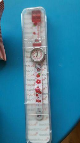 Zegarek dzieciecy Swatch.