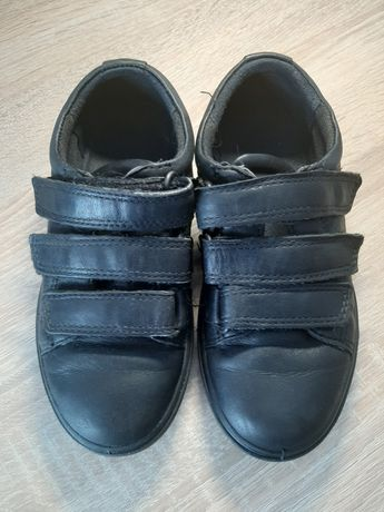 Кожанные туфли ECCO на мальчика 28р