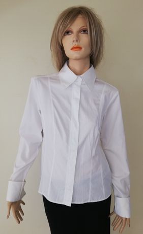 Hugo Boss - koszula biznesowa ze spinkami - 40