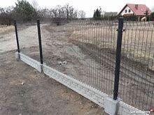 PROMOCJA!!!ogrodzenie panelowe fi4 123cm