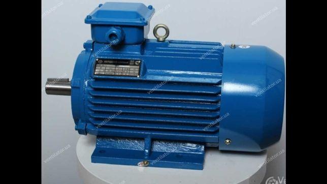 Електромотор Електродвигатель (нові та б/у, різної потужності)