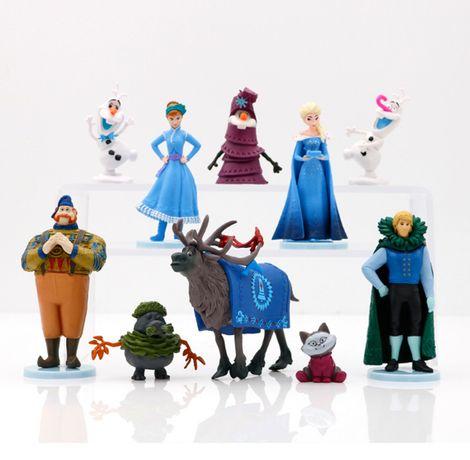 Холодное сердце 2 набор фигурок Frozen коллекция из 10 фигурок пласти