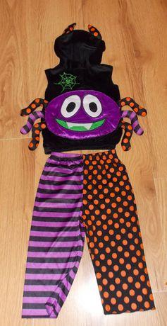 Новогодний костюм Паучок для мальчика 1-2 года, 92 см