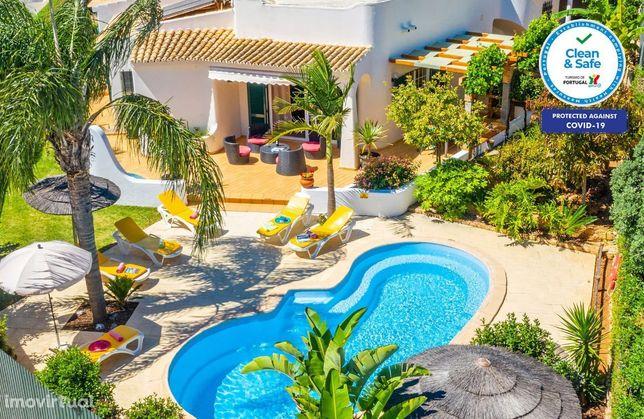 Ocean Blue - Moradia T3 Albufeira, Piscina privada, AC, WIFI