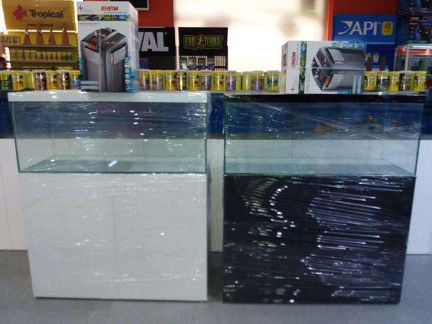 Aquario com móvel e filtro externo eheim novo