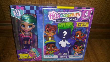Набор Кукол Hairdorables Девочка и Мальчик HairDUDEables - 1-2-я серия