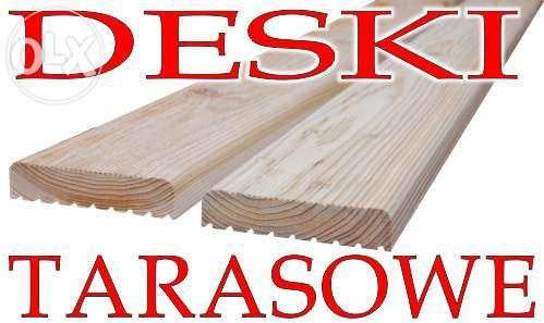 Deska tarasowa MODRZEW tarasy - Producent