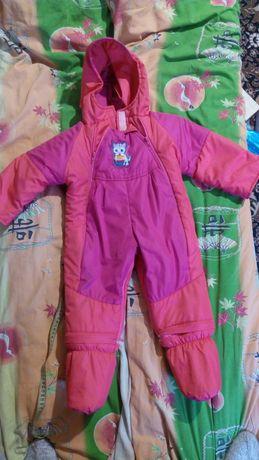 Зимний комбинезон для девочки (0-2 лет)