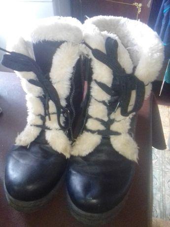 Ботинки зимние размер 37