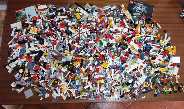 Lote Lego original com peças aleatórias