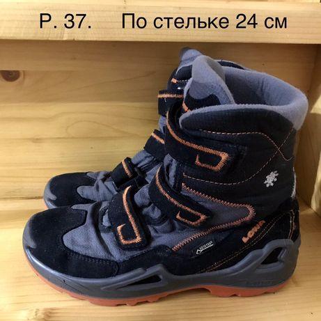 Зимние термо ботинки сапоги Lowa gore tex