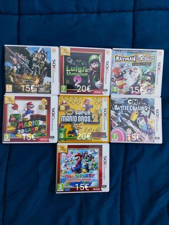 Jogos 2ds / 3ds ( Mario luigi )