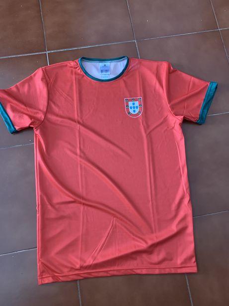 T shirt Portugal á estreia