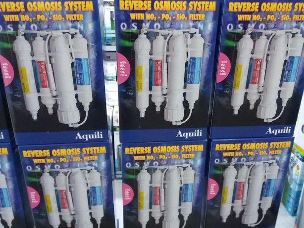 Filtro osmose para aquario agua doce ou salgada novo
