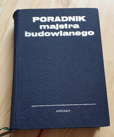 Książka Poradnik Majstra Budowlanego