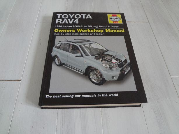 Instrukcja obsługi i naprawy Toyoty Rav4