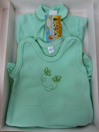 Набор для новорожденных с вышивкой 5-ти предметный ТМ Di-Li