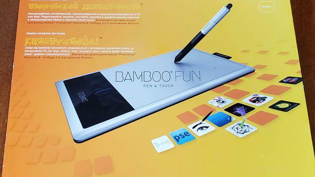 Беспроводной графический планшет Wacom Bamboo Fun Pen & Touch Small