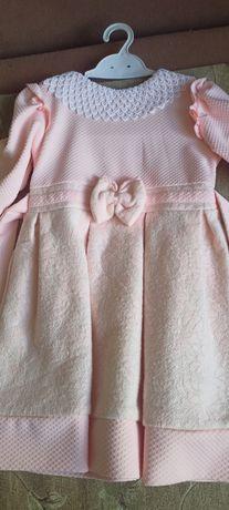 Плаття тепле на 4 роки
