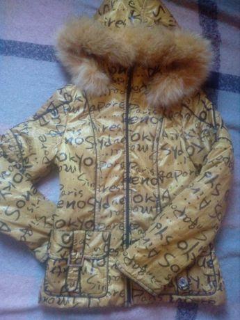 Куртка 42 размер,без дефектов,яркая!