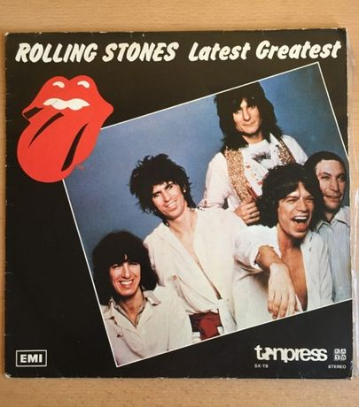 """Rolling Stones - """"Latest Greatest"""" - Płyta winylowa"""