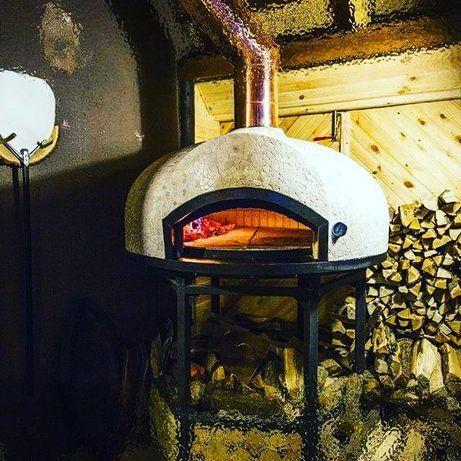 Печь для пиццы на дровах, пицца-печь ( помпейская)