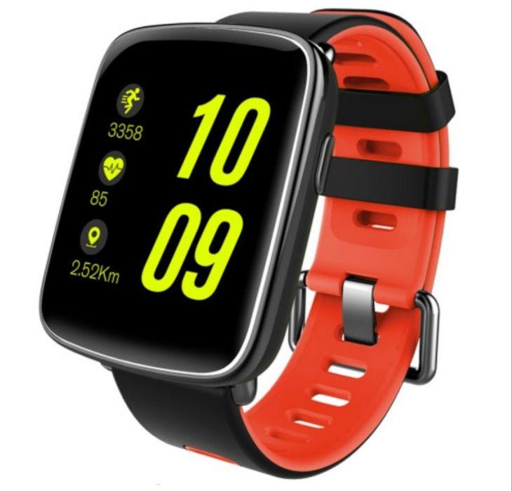 Смарт-часы NOMI W20 Black-Red Ковель - изображение 1