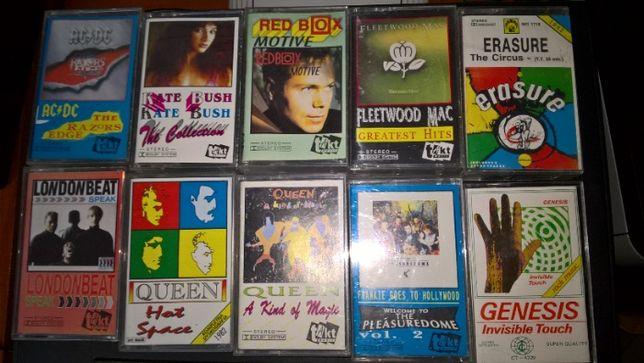 Kasety audio FLEETWOOD MAC Queen AC/DC Red Box Toto WHAM! Jarre