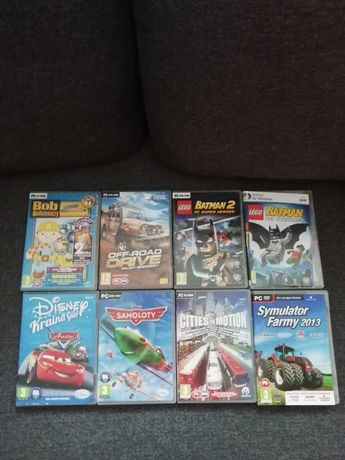 Gry PC dvd Rom
