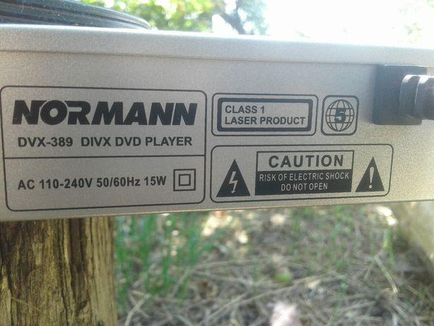 Видеомагнитафон dvd norman