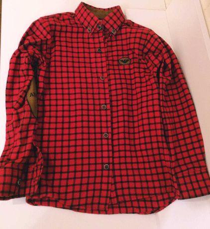 Рубашка на мальчика 7 8 9 лет