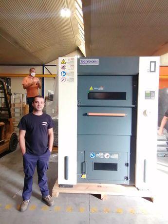 Aluguer de Máquina de secar roupa 100kg industrial