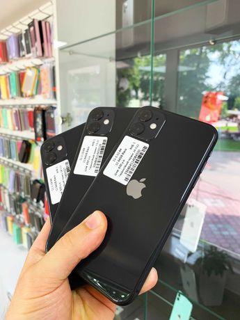 НОВІ iPhone 11  black 64Gb гарантія по 05.22