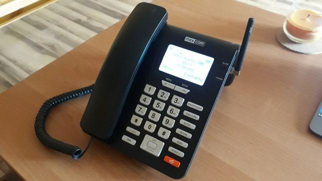 Telefon maxcom MM28D dla seniora sim