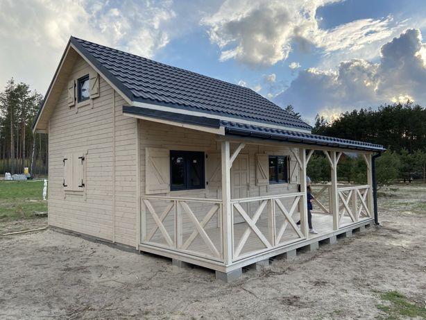 Domek 35m2 na zgłoszenie Domki Całoroczne Letniskowe Taras