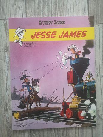 Komiks pt Lucky Luke Jesse James tom 35