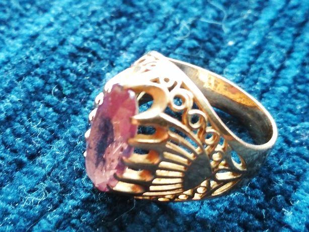 Кольцо с камнем  583 проба.