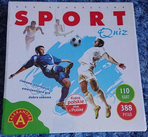 Gra edukacyjna sport