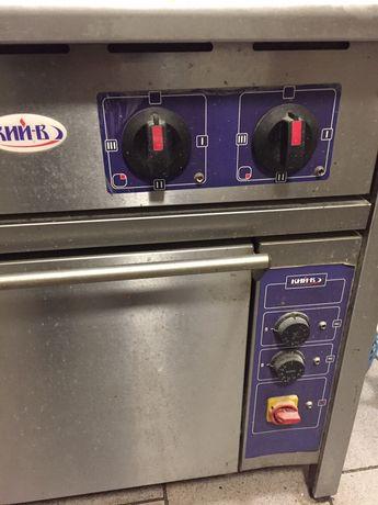Електро плита з духовкою