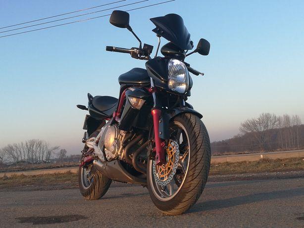 Kawasaki er6n 2007 ABS. Kurtka/kask