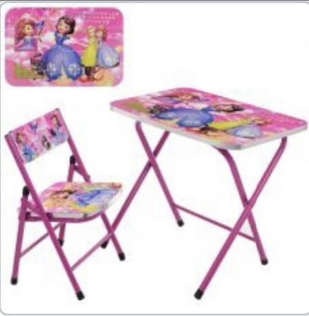 Детский складной столик со стульчиком Черепашки-ниндзя A19-NJ