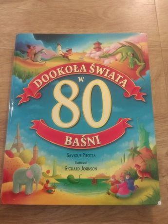 Książka dla dzieci - bajki - Dookoła świata w 80 baśni
