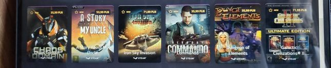 Chaos Domain,A story About My Uncle,Iron Sky Invasion,