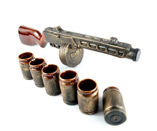 Подарочный набор ППШ для мужчины, военному, парню, другу, брату