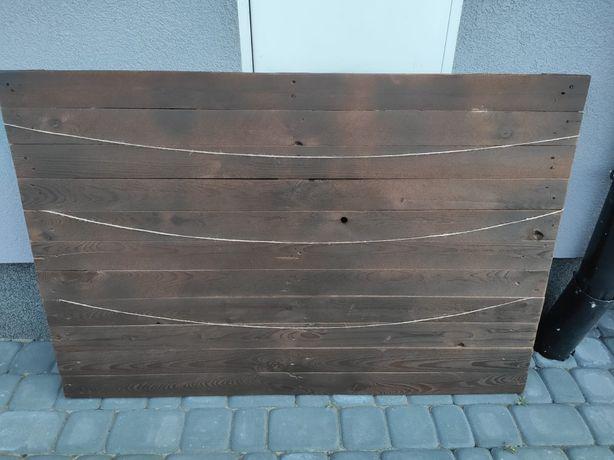 Tablica drewniana rystykalna boho ślubna